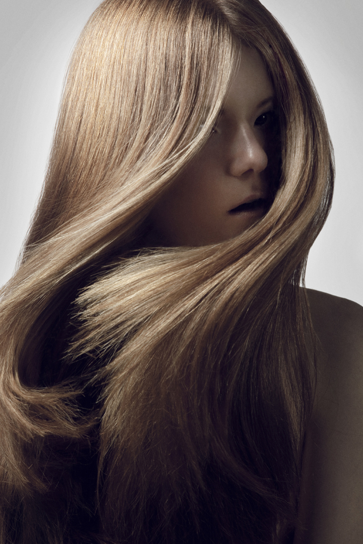 blond girl beauty hair