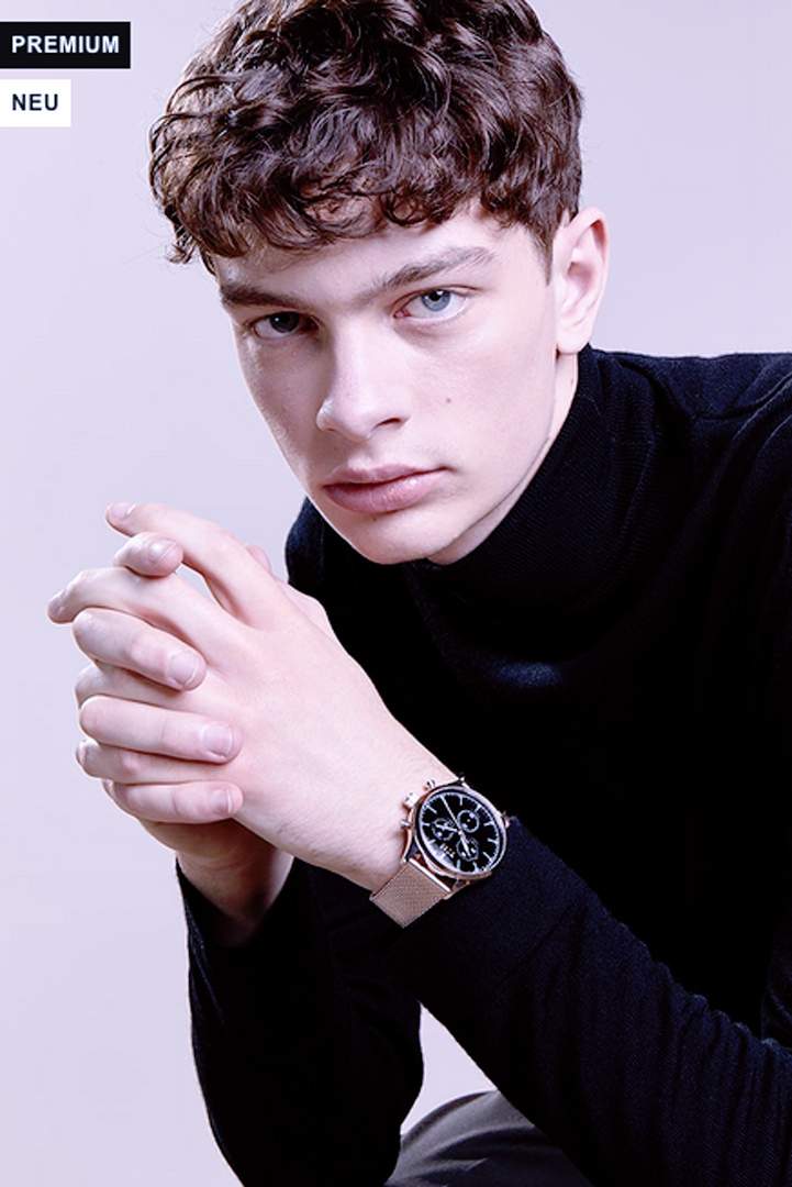 man with watch