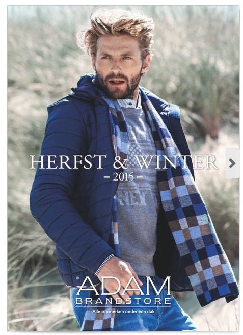 Male Model Scarf Outdoor