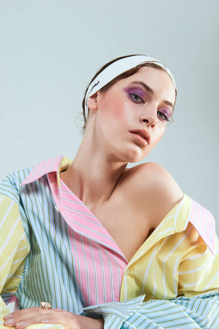 beauty magazine gala editorial stephan schmied jana cleve fotografin photographer max factor make-up hair pastel shades