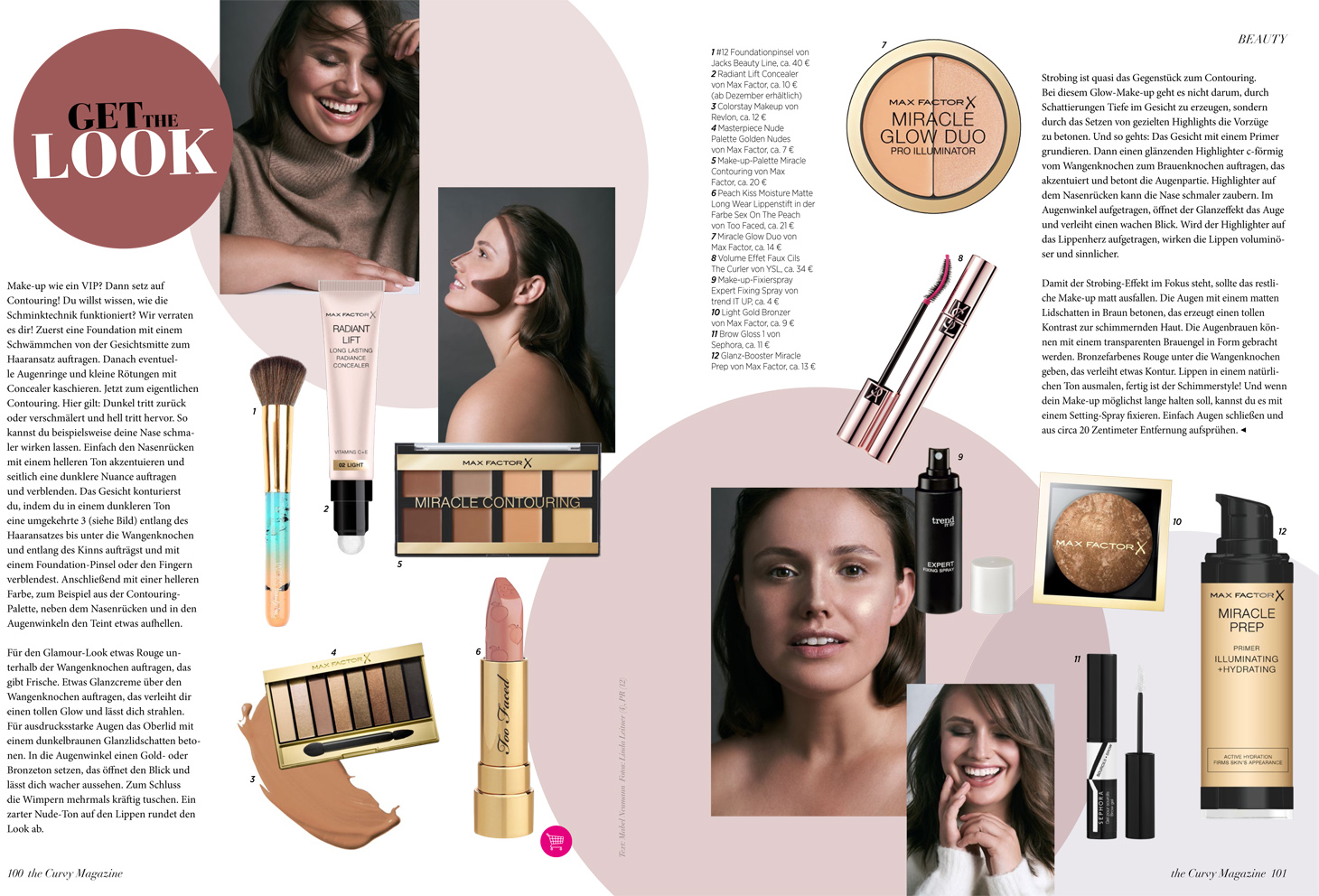 beauty make-up glamour plus size