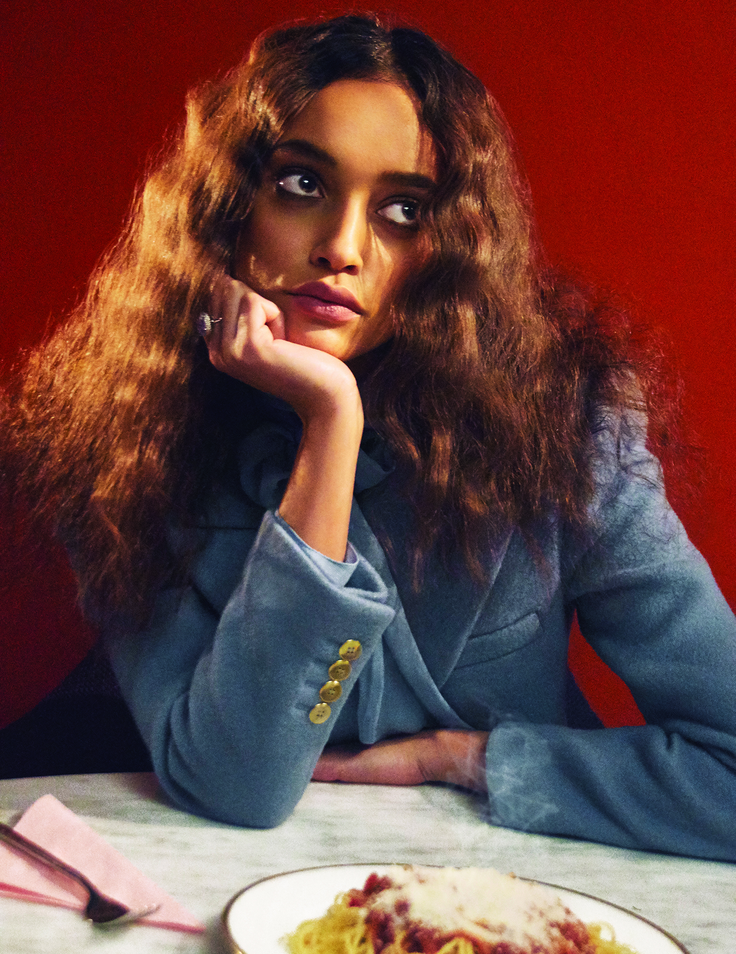 vogue portugal editorial hair grooming tony lundsrtoem long curly hair