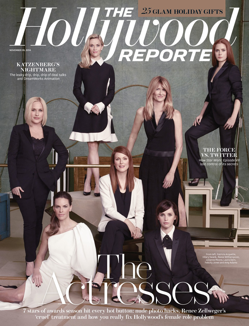 Patricia Arquette Reese Witherspoon Laura Dern Amy Adams Julianne Moore Felicity Jones The Hollywood Reporter