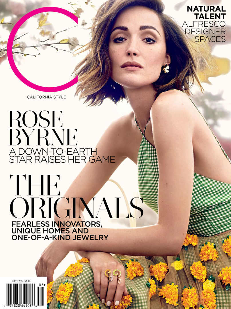 rose byrne c magazine