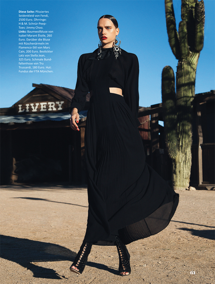 model styling ilvery desert high fashion styling black  skirt sleek hair