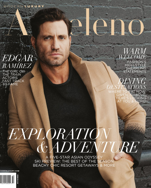Edgar Ramirez actor fashion coat styling grooming
