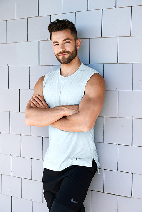 Sport Fitness Model Active Male