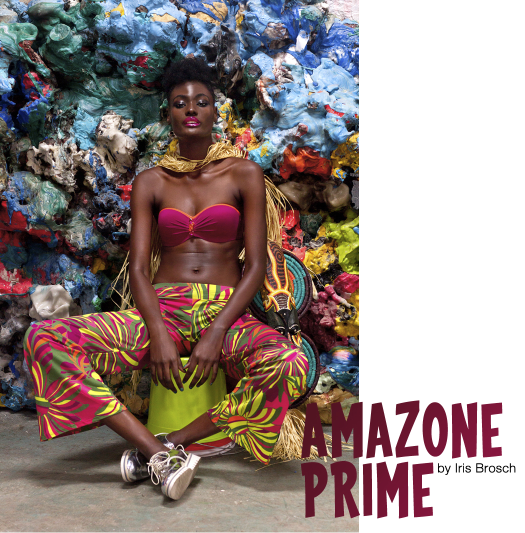 amazone prime woman colorful african fashion