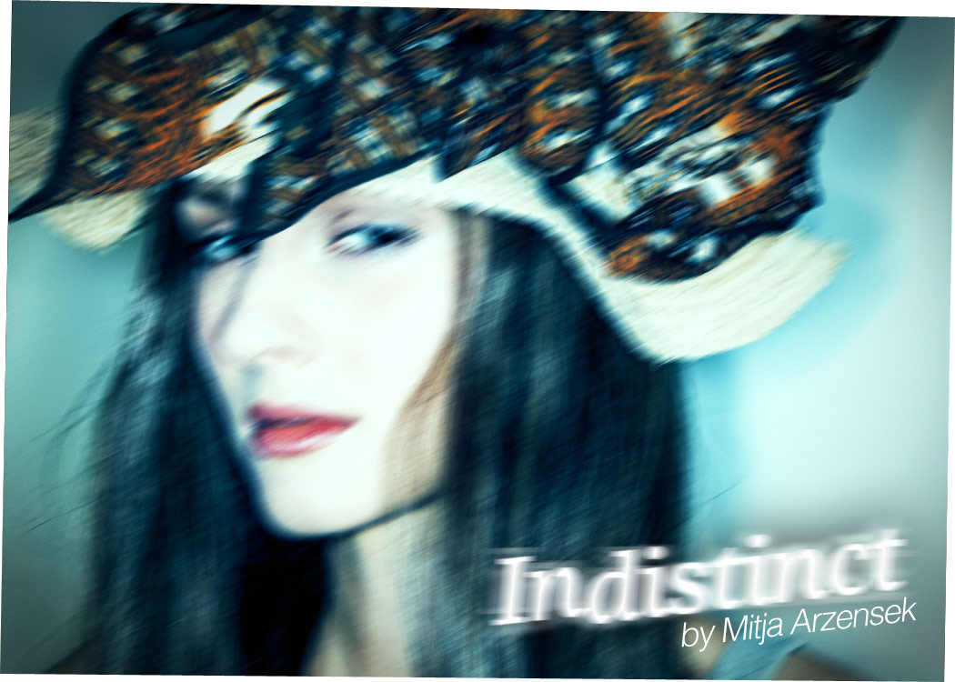 indistinct high fashion woman