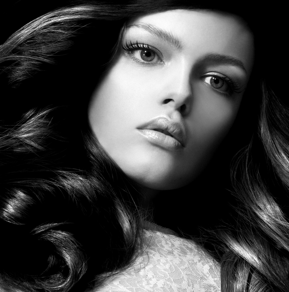 bw haute couture brown hair
