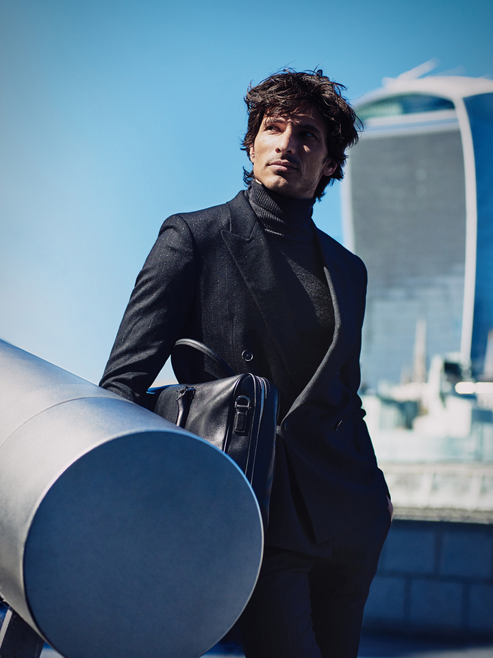 Andres Velencoso Model Anzug The Peak