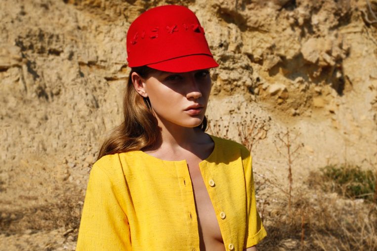 coloured fashion girl rocks colours hats