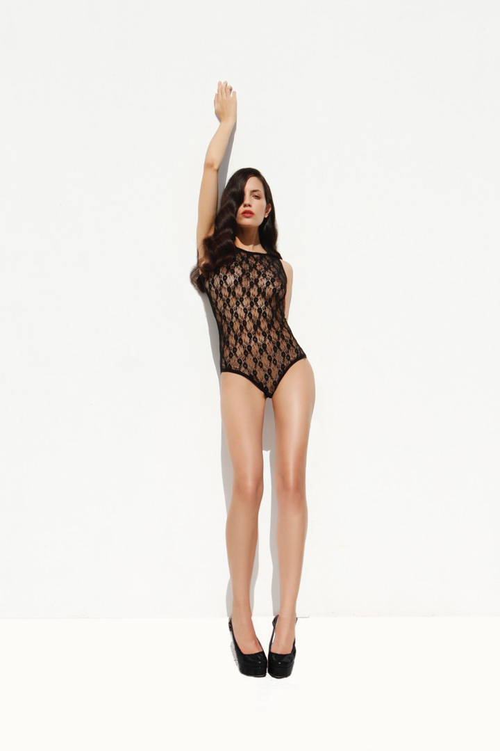 lingerie girl  bodysuit studio