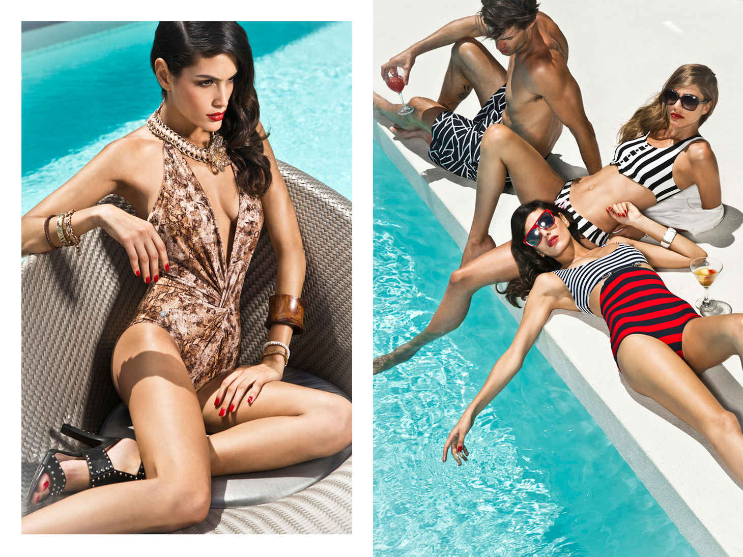 swimwear bademode pool