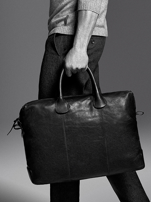 werner schreyer bw ad lether bag