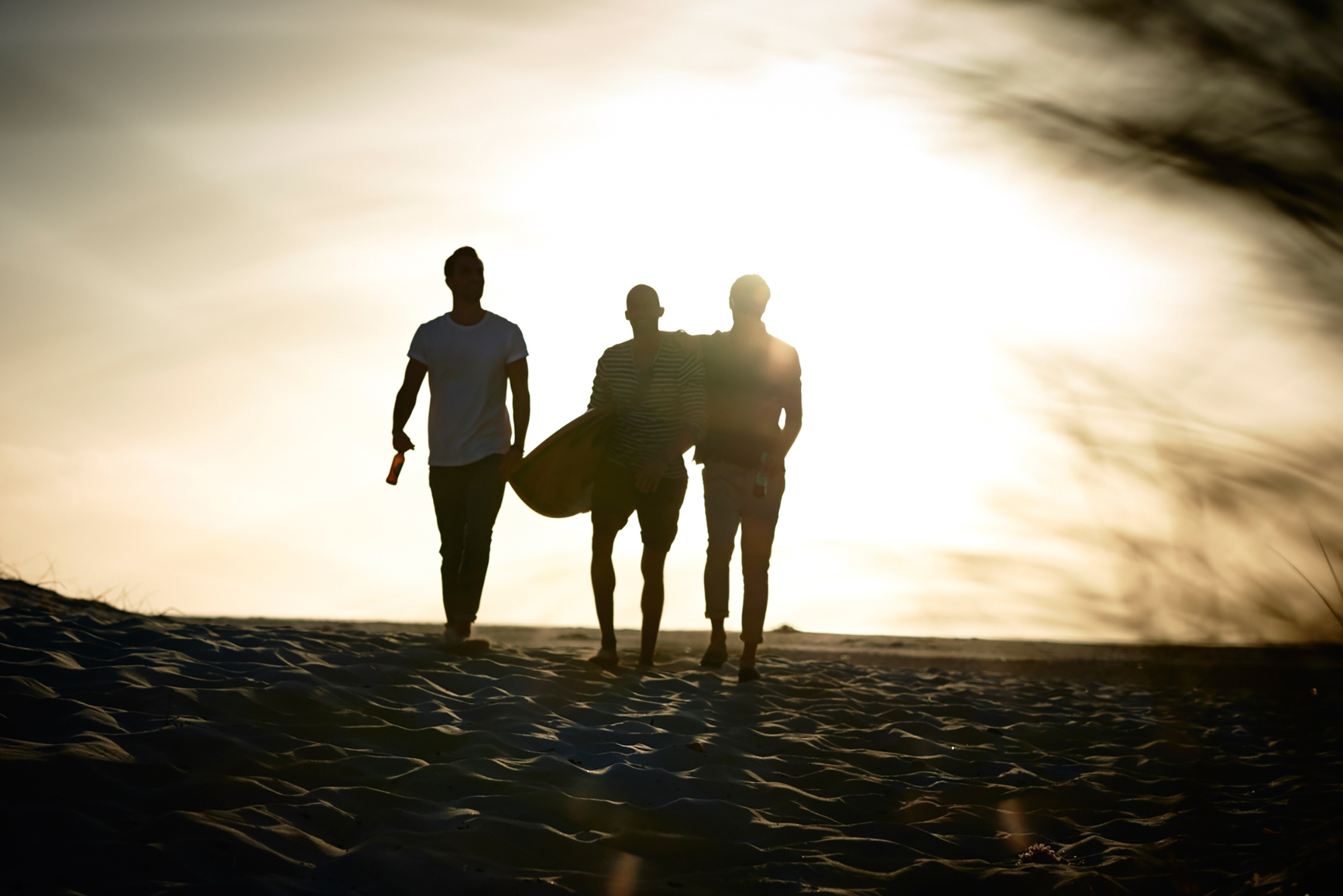 surfing guys male models beach sunset
