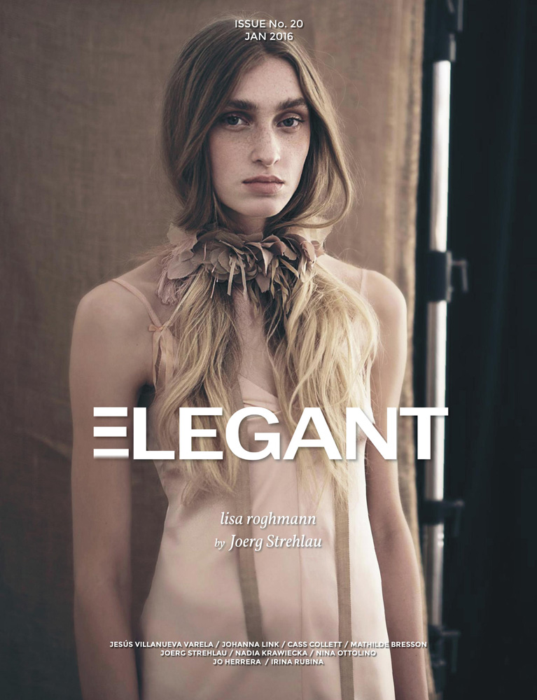 elegant magazine woman blond fashion