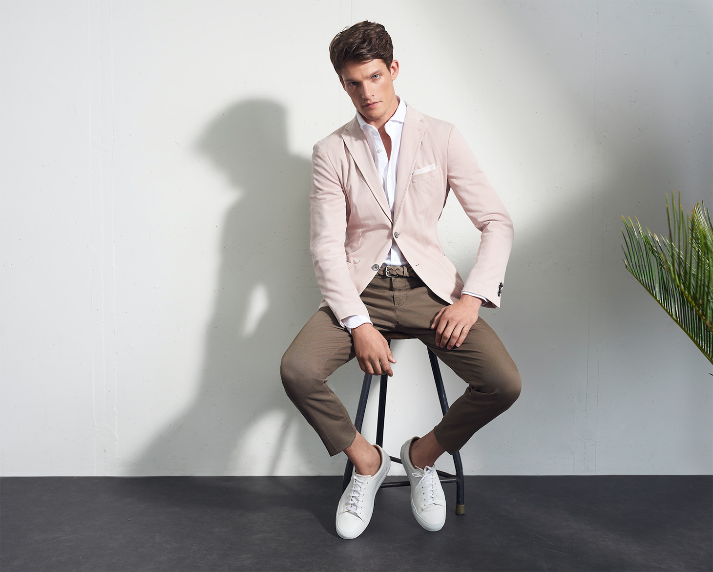 Jacket Brown Pants Windsor Lookbook Male Fashion