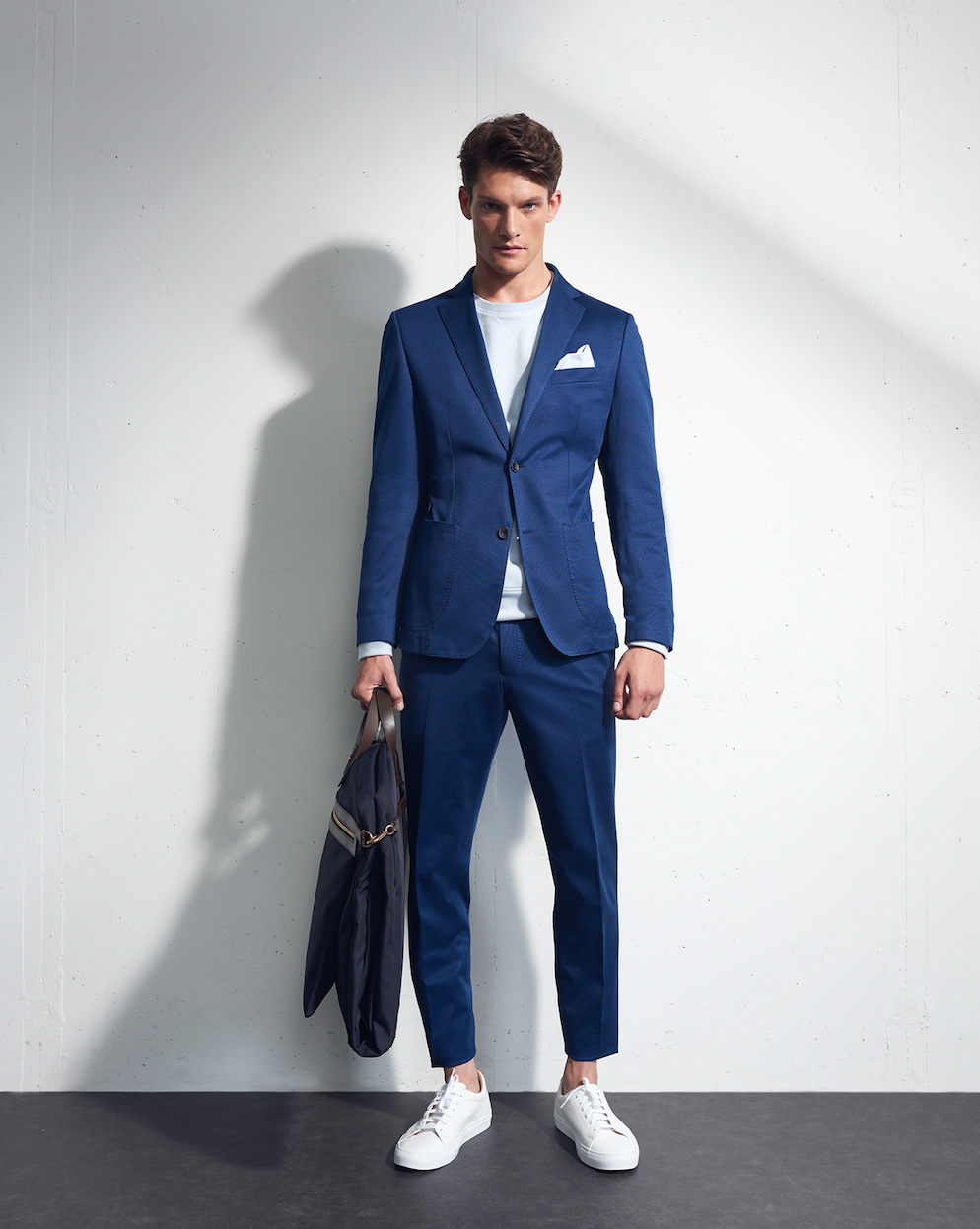 Blue Jacket Windsor Lookbook Male Fashion