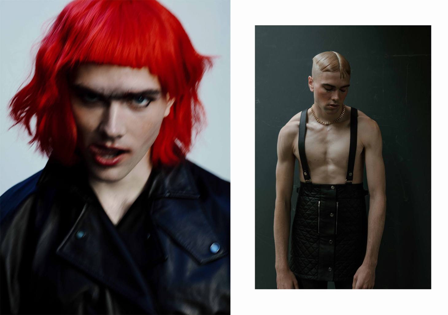 the pink prince magazine men editorial