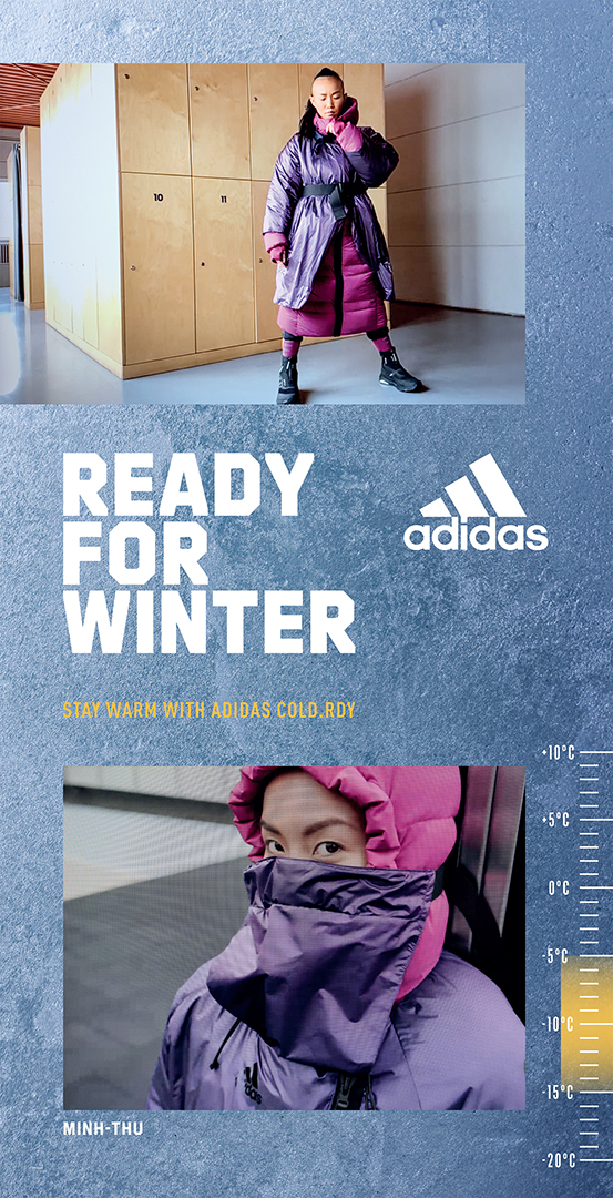 Adidas COLDRDY  screen shoot