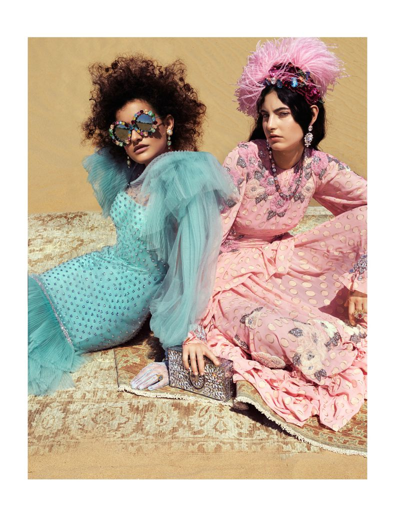vogue dolce gabbana colorful arabia commercial