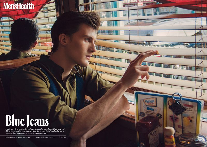mens health blue jeans styling diner american pablo patane
